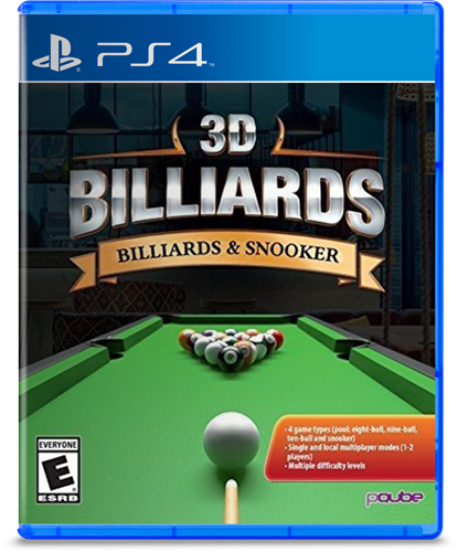 3D Billiards PS4